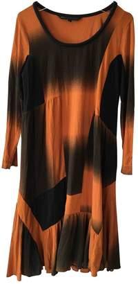 Marc by Marc Jacobs \N Orange Cotton Dress for Women
