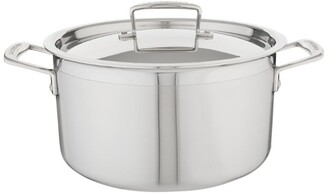 Le Creuset 3-Ply Stainless Steel Casserole Pan (24Cm)