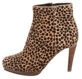 Rupert Sanderson Ponyhair Ankle Boots