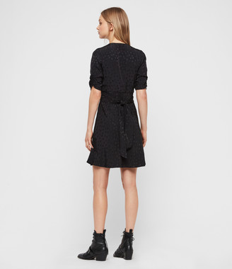 AllSaints Avery Floral Dress