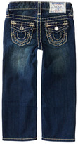 True Religion Natural Big T Straight Fit Jean (Toddler Boys)
