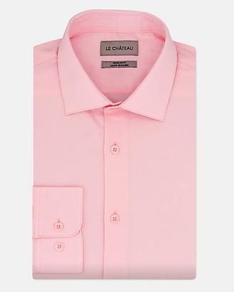 Le Château Tonal Cotton Twill Regular Fit Shirt