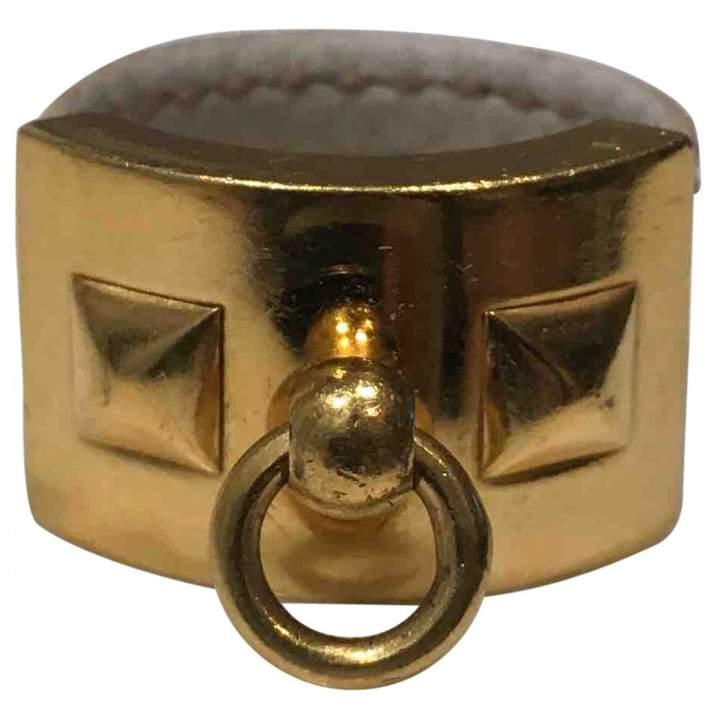 Hermes Collier de chien leather ring