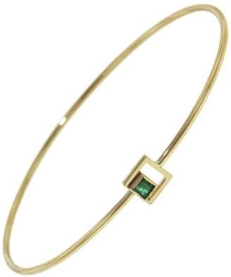 Yannis Sergakis Adornments Emerald Square Bangle Bracelet - Yellow Gold