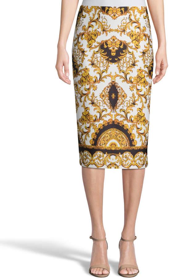 d970c1b553be Gold Pencil Skirt - ShopStyle