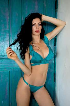 Zoë Bikini Tianna Ruffle Top