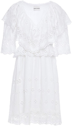 Antik Batik Ally Ruffled Broderie Anglaise Cotton Dress