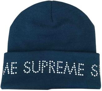 Supreme Turquoise Synthetic Hats