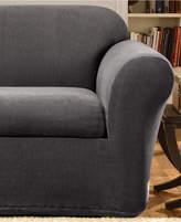 Sure Fit Stretch Metro 2-Piece Sofa Slipcover