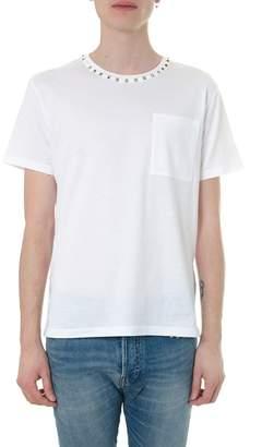 Valentino Garavani Rockstud Embellished T-Shirt