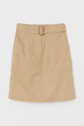 H&M Utility Skirt with Belt
