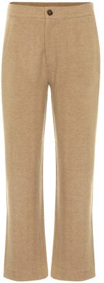 Vince High-rise cropped pants