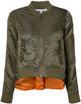 Veronica Beard back slit bomber jacket - women - Acrylic/Nylon/Polyester/Wool - 6