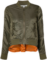 Veronica Beard back slit bomber jacket - women - Acrylic/Nylon/Polyester/Wool - 8