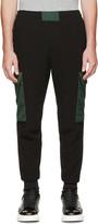 Alexander McQueen Black & Green Lounge Pants