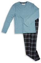 Original Penguin Flannel Pajama Set