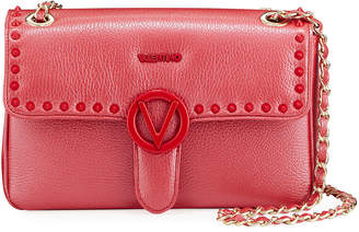 Mario Valentino Valentino By Antoinette Studded Leather Shoulder Bag