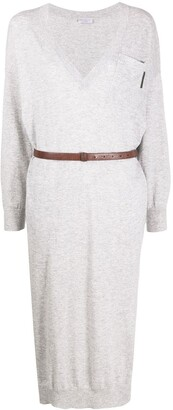 Brunello Cucinelli Fine Knit Jumper Dress