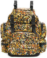 DSQUARED2 floral print backpack