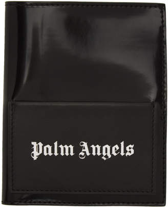 Palm Angels Black Iconic Passport Holder