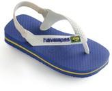 Havaianas Baby's Brazil Logo Flip Flops