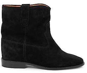 Isabel Marant Women's Crisi Suede Ankle Boots