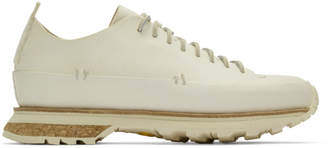 Feit White Lugged Rubber Sneakers