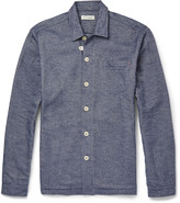 Loungewear - Lounge Lux Cotton-Flannel Overshirt