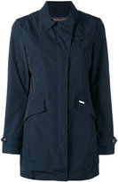 Woolrich flap pocket coat - women - Polyester/Polyamide - XS