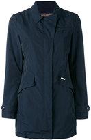 Woolrich flap pocket coat