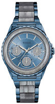 GUESS Twilight Sky Blue Two-Tone Link Bracelet Watch