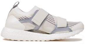 adidas by Stella McCartney Ultraboost Mesh-paneled Stretch-knit Sneakers