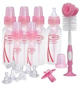 Dr Browns Dr. Brown's Natural Flow® Standard Gift Set 22 piece - Pink