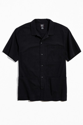 BDG Safari Short Sleeve Button-Down Shirt