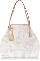 Alviero Martini Geo Printed Large 'New Basic' Shoulder Bag