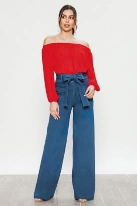 Flying Tomato Wide Leg Jeans