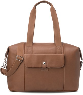 Babymel Stef Faux Leather Diaper Bag