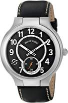 Philip Stein Teslar Men's 42-SB-CSTB Round Analog Display Japanese Quartz Watch