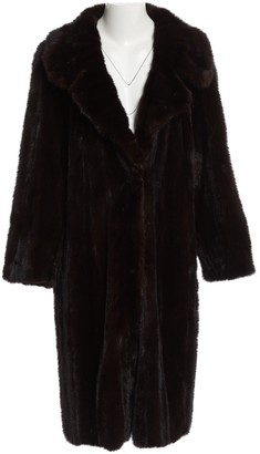 N. Non Signé / Unsigned Non Signe / Unsigned \N Brown Mink Coats