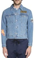 Kenzo Patch Detailed Denim Jacket