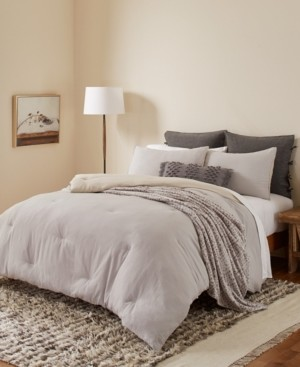 ED Ellen Degeneres Washed Cotton King 3 Piece Comforter Set Bedding