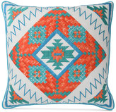"Blissliving Home Siesta Fiesta 18"" Square Decorative Pillow"