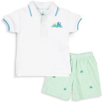 Florence Eiseman Baby Boy's 2-Piece Polo & Shorts Set