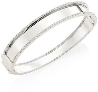 Shay Essentials Diamond & 18K White Gold Bangle
