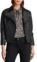 AllSaints Deebee Leather Blazer