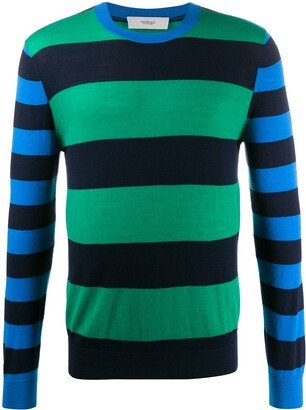 Pringle Rugby striped jumper