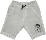 Diesel Gray Smoke Active Shorts - Boys