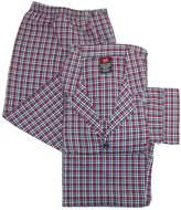 Hanes Men's Big & Tall Broadcloth Long Sleeve Pajama Set, 3XL