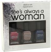 Deborah Lippmann She's Always A Woman Gift Set (Multi) - Beauty