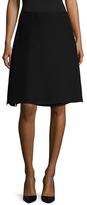 Prada Linea Rossa Side Split A Line Skirt